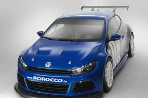 Volkswagen Scirocco GT24 Front Close Wide