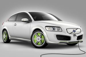 Volvo Recharge C30 Concept Wide