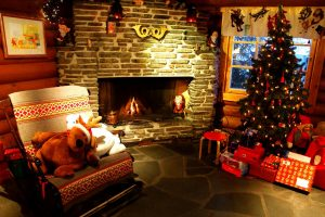 Warm Home In The Spirit Of Christmas