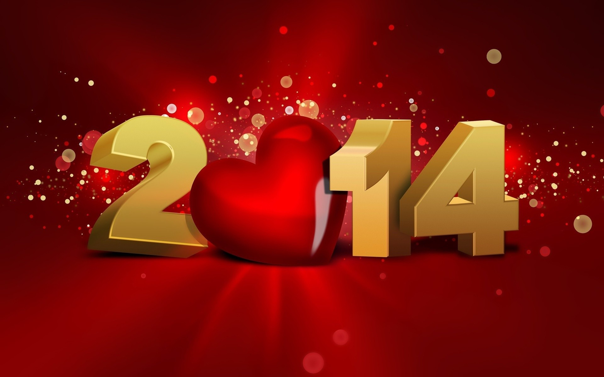 Welcome The New 2014 With Love