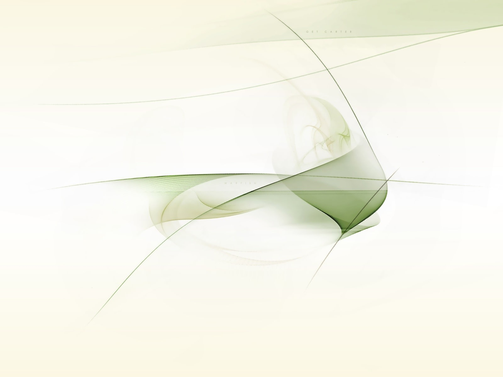 White And Green Perfect Lines Wallpaper