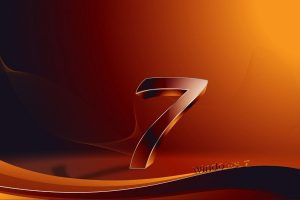 Windows 7 Orange