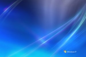 Windows 7 White And Blue Background