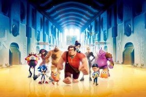 Wreck It Ralph 3D Movie Wide