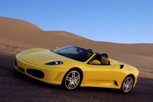 Yellow F430 Spider