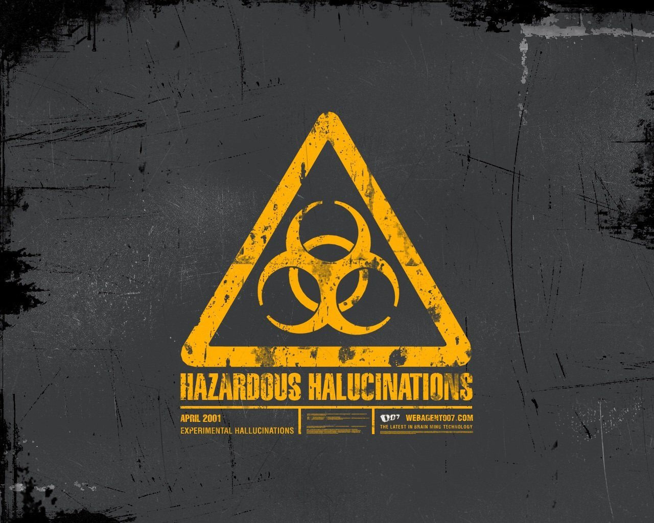 Yellow Sign Biohazard Wallpapers