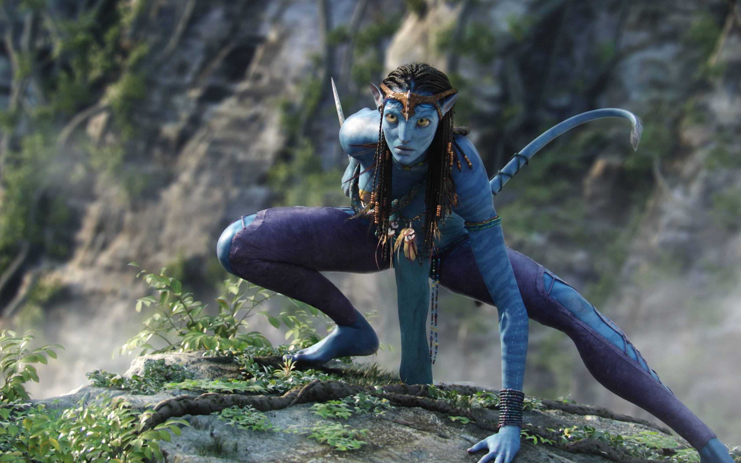 Zoe Saldana In Avatar Movie