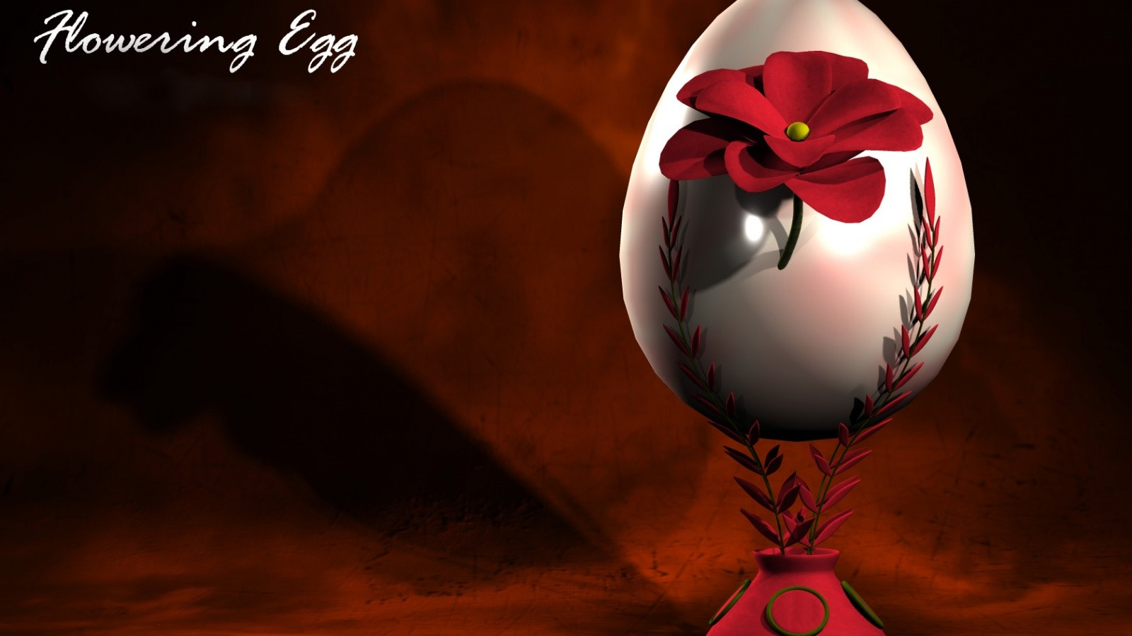 abstract easter egg HD